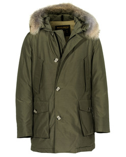 WOOLRICH Slim Arctic Parka Olive