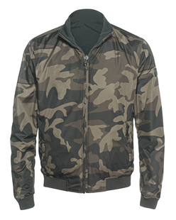 WOOLRICH Reversible Camou Oliv