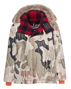 WOOLRICH Atlantic Fur Check Camouflage