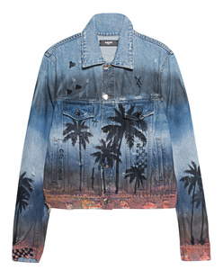 Amiri Palm Trucker Blue