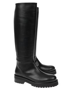 Dondup High Leather Black