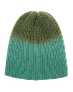 The Elder Statesman Beanie Watchman Dyed Green