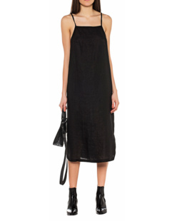 THOM KROM Linen Dress Black