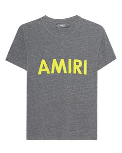 Amiri Basic Tee Neon Grey