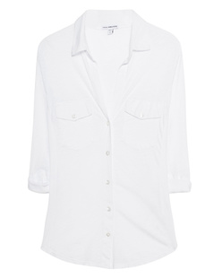 JAMES PERSE Breast Pocket White
