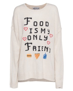 WILDFOX Food Is My Only Friend Venice Canal Vintage Lace