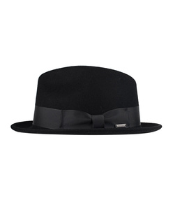 WOOLRICH Classic Felted Black