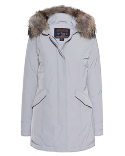 WOOLRICH Luxury Arctic Parka Light Grey