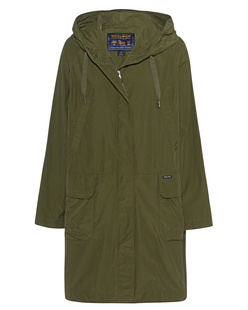 WOOLRICH Atlantic Parka Shiny Green