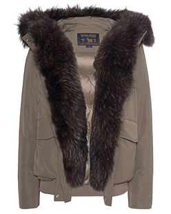 WOOLRICH Bomber Military Taupe