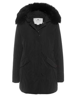 WOOLRICH Luxury Arctic Parka Fox Black