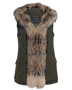 WOOLRICH W´s Military Parka Vest