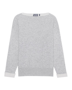 WOOLRICH Cashmere Over Sweater Grey