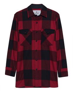 WOOLRICH Karo Shirt Red