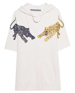 RAQUEL ALLEGRA Half Sleeve Tiger Dirtywhite