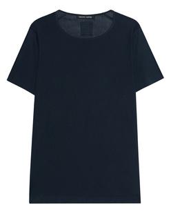 HANNES ROETHER Knit Cotton Sleeve Dark Blue