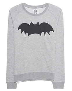 ZOE KARSSEN Loose Fit Raglan Bat Grey