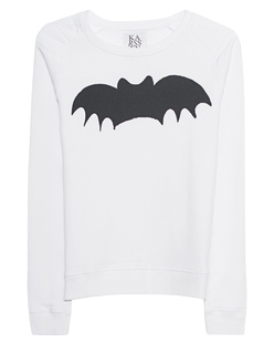 ZOE KARSSEN Loose Fit Raglan Bat White