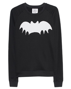 ZOE KARSSEN Loose Fit Raglan Bat Black