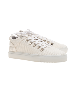 Filling Pieces Low Top Pyramid II White