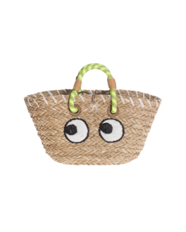 ANYA HINDMARCH Basket Small Eyes Beige