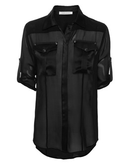 Pierre Balmain  Fluid Silk Black