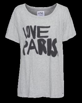 One Teaspoon Love Paris Heather Grey