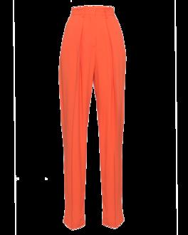 MSGM Wide Pleat Orange