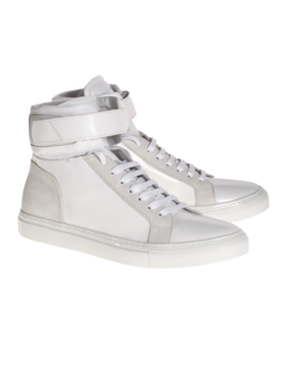 YLATI FOOTWEAR Amalfi High White