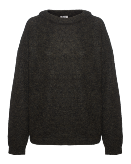 ACNE STUDIOS Dramatic Mohair Military Green