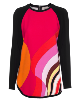 EMILIO PUCCI Signature Long Pink Multi
