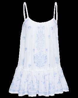 Juliet Dunn Strap Little Sequin Blue White