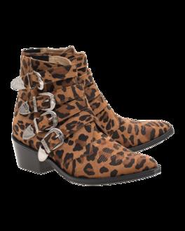 Toga Pulla Cowboy Suede Leopard