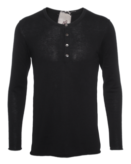 FRIENDLY HUNTING Traverse Henley Black