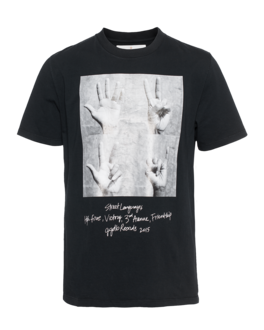 GOLDEN GOOSE Hand Black