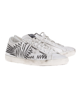 GOLDEN GOOSE Super Star White Arch