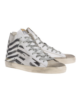 GOLDEN GOOSE Francy Leather White