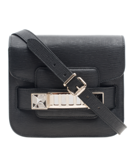 PROENZA SCHOULER PS11 Tiny New Linosa Black