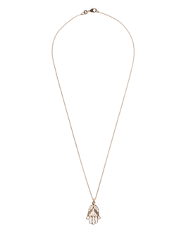 L'ATELIER Hand Of Fatima Charming Gold