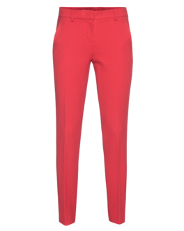 DKNY Slim Leg High Wool Red