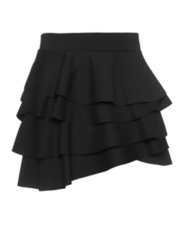 DKNY Ruffles Mini Soft Scuba Black