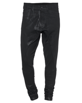 JULIUS Pam Slim Coated Black