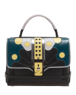 PAULA CADEMARTORI Petite Faye Multicolor Base Black