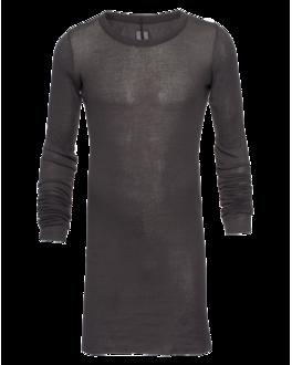 RICK OWENS Basic Fine Rib Khaki Grey