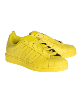 ADIDAS X PHARRELL WILLIAMS Superstar Bright Yellow