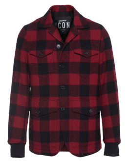 DSQUARED2 Lumberjack Red