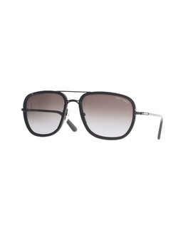 25 SUNCLASS by JADES24 Tom Ford Riccardo Black Brown Gradient