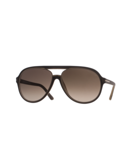 TOM FORD EYEWEAR Sergio Polarized Aviator Gold