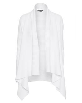 VINCE Drape Heavy Knit White