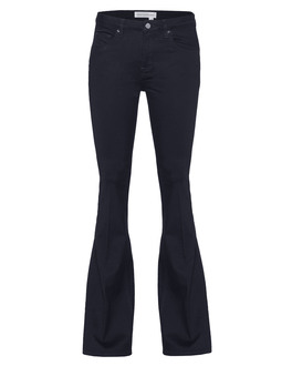VICTORIA BECKHAM DENIM Flare Midnight Twill Blue